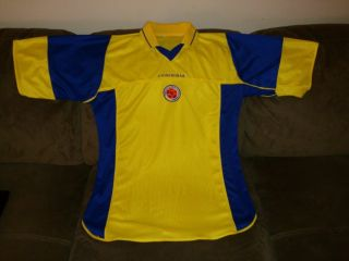 Federacion Colombiana Colombia National Football Soccer Jersey Size