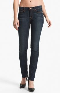 J Brand Stretch Denim Skinny Jeans (Dark Vintage)