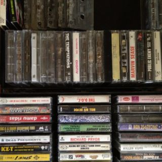 Collection Of Rap, Blues, Comedy And Slow Jams,with JVC Cassette Dual