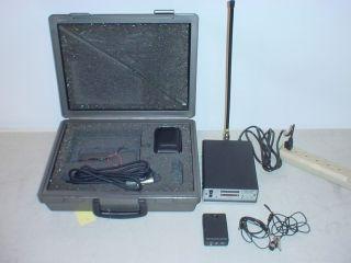 Vintage Comtek MR 182 M 72 VHF Wireless Microphone mic System