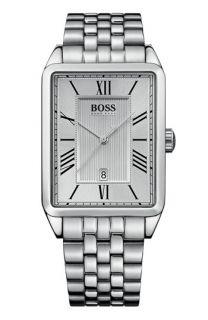 BOSS Black Rectangular Case Bracelet Watch