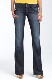 Hudson Jeans Triangle Pocket Bootcut Stretch Jeans (Elm) (Petite)