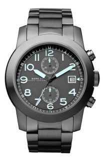 MARC BY MARC JACOBS Larry Chronograph Bracelet Watch