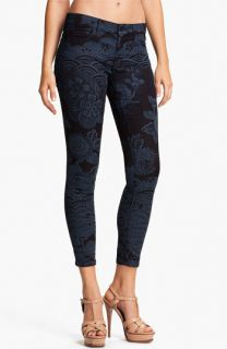 MOTHER The Looker Print Skinny Crop Jeans (Moon of Tokyo)