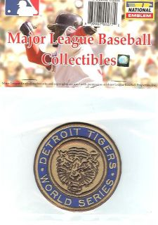 1968 Detroit Tigers World Series Patch MLB Licensed