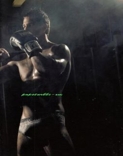 Beautiful Painting Sexy Man Standing with Boxing Cover