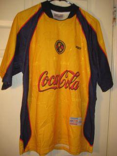 Club America Jersey Retro Shirt Mexico Vtg Aguilas Del Futbol Soccer