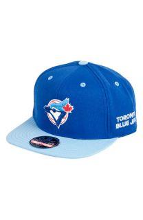 American Needle Blockhead Blue Jays Snapback Baseball Cap