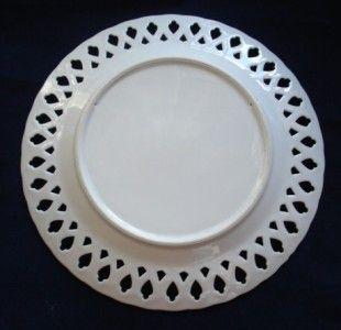 Mid Century Modern Signed Berggren Scandinavian Rooster Folk Art Plate