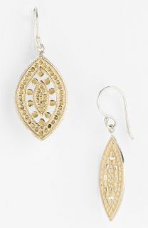 Anna Beck Lombok Small Leaf Earrings