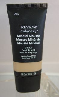 Revlon Colorstay MINERAL MOUSSE Foundation MEDIUM / DEEP #070