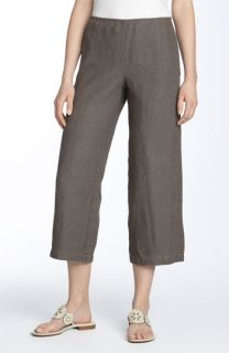 Eileen Fisher Crop Linen Pants