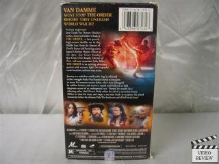 The Order Jean Claude Van Damme Charlton Heston 043396074347
