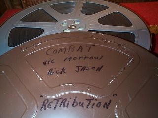 16mm Film Print TV Series Combat  Retribution Vic Morrow w Previews