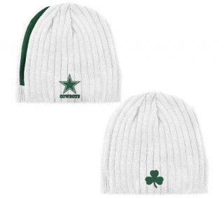 NFL Dallas Cowboys 2010 St. Patricks Knit Hat —
