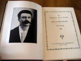 Complete Short Stories of Guy de Maupassant (10 Volumes in 1) 1903