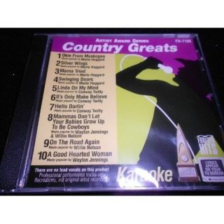 Okie from Muskogee Conway Twitty Country Karaoke CDG CD Songs