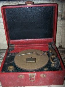 Vtg Victor Talking Machine Phonograph Victrola VV 2 60