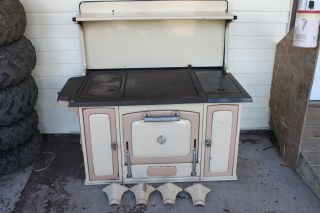Vintage Majestic Wood Cook Stove