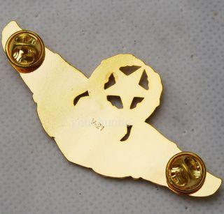 USAF U s Navy Wings Military Command Pilot Metal Wings Badge Pin 32213