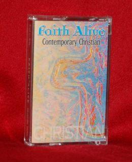Contemporary Christian Music Faith Alive Tape New