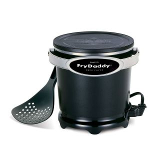 Presto Frydaddy Electric Deep Fryer Fry Daddy Home Cook Kitchen Food