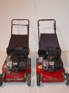 Used Toro 21 Commercial Lawn Mowers Two Cycle Engine Model 22031