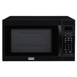Kenmore Elite Black 1 5 cu ft Convection Microwave Oven 67909 U