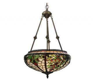 Tiffany Style 16 Barroco Inverted Pendant Lamp —