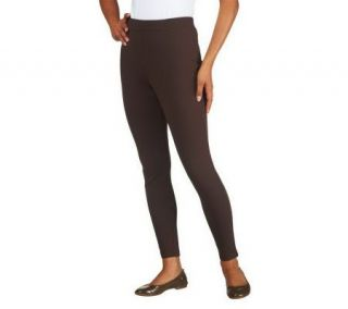 Liz Claiborne New York Full Length Ponte Knit Leggings   A226419