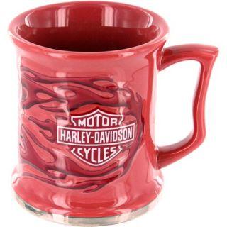 Harley Davidson Flame Pink Coffee Cup Mug 651088