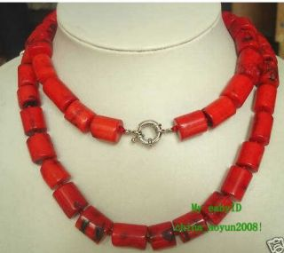 Noblest Jewelry Tibetan Red Coral Necklace 32