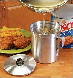 Oil Strainer Stores Cooking Oils to Fry Foods Again New