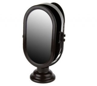 Oval Tabletop Mirror Jewelry Cabinet by Lori Greiner —