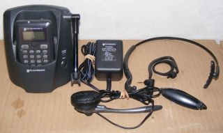 PLANTRONICS CT12 2 4Ghz WIRELESS HEADSET PHONE CORDLESS HANDS FREE FOR