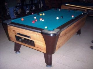 Coin Operated Pool Table In Sporting Goods - Dynamo coin operated pool table