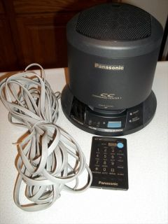KX TS700 B Panasonic Telephone Conference System Includes Remote and