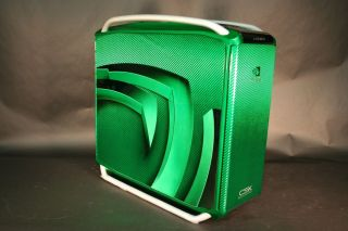 Cooler Master CSX NVIDIA Cosmos Custom Painted Full Tower Chassis Case