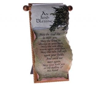 Irish Blessing Scroll by Catherine Galasso —