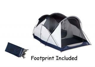 Sierra Designs 8person Wu Hu Annex 6 2 Tent w Footprint Camping Base