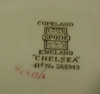 copeland spode chelsea 9 luncheon plate 2 6247 this is a lovely