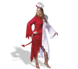 Half Devil, Half Angel Plus Adult Costume —