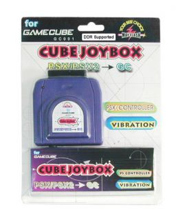 Cube Joybox Pro PlayStation Controllers on GameCube New