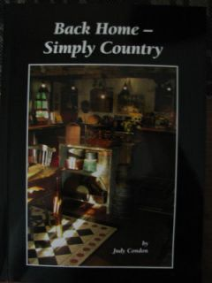 Maxine Thomas Country Primitives 14 Paint Book New