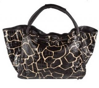 Joan Rivers Call of the Wild Animal Print Tote —