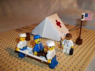 Lego Civil War Custom Union Hospital Cavalry Lot Set
