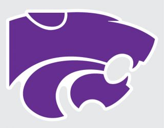 Wildcats Mascot Logo 5 Vinyl Decal Car Truck Sticker K State