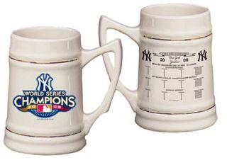 New York Yankees MLB 2009 World Series Champions Stein