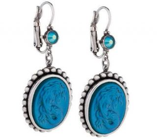 Kirks Folly Lorelei Mermaid Dream Lever Back Earrings —
