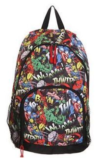 Marvel Group Backpack NWT Captain America Thor Ironman Hulk Wolverine